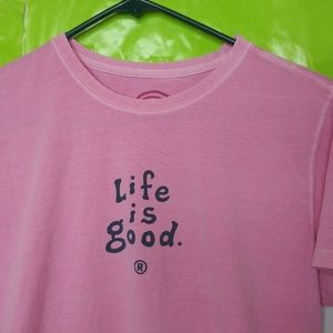 Life Is Good Relaxed Fit Short Sleeve T Shirt